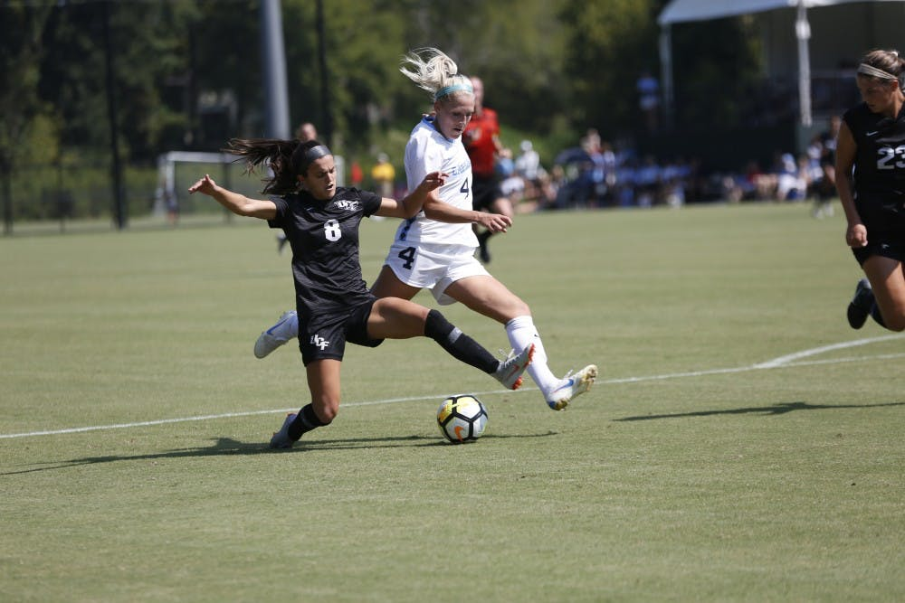 UNC women's soccer bounces back from ACC title loss with win in NCAA first round