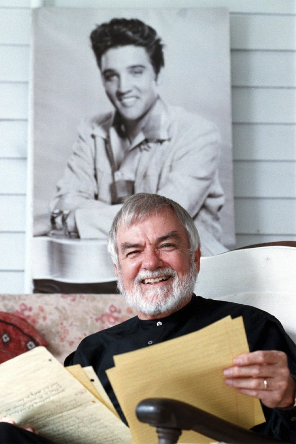 <p>Former UNC professor Joel Williamson researched Elvis Presley extensively for a biography, which focuses on his southern roots.</p>