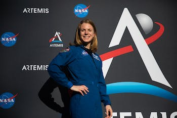Zena Cardman, a UNC alumna and astronaut candidate with NASA's 2017 class, poses for a potrait in front of Morehead Planetarium on Wednesday, Nov. 6, 2019. Cardman entered the cohort as one of 12 from over 18,000 applicants.