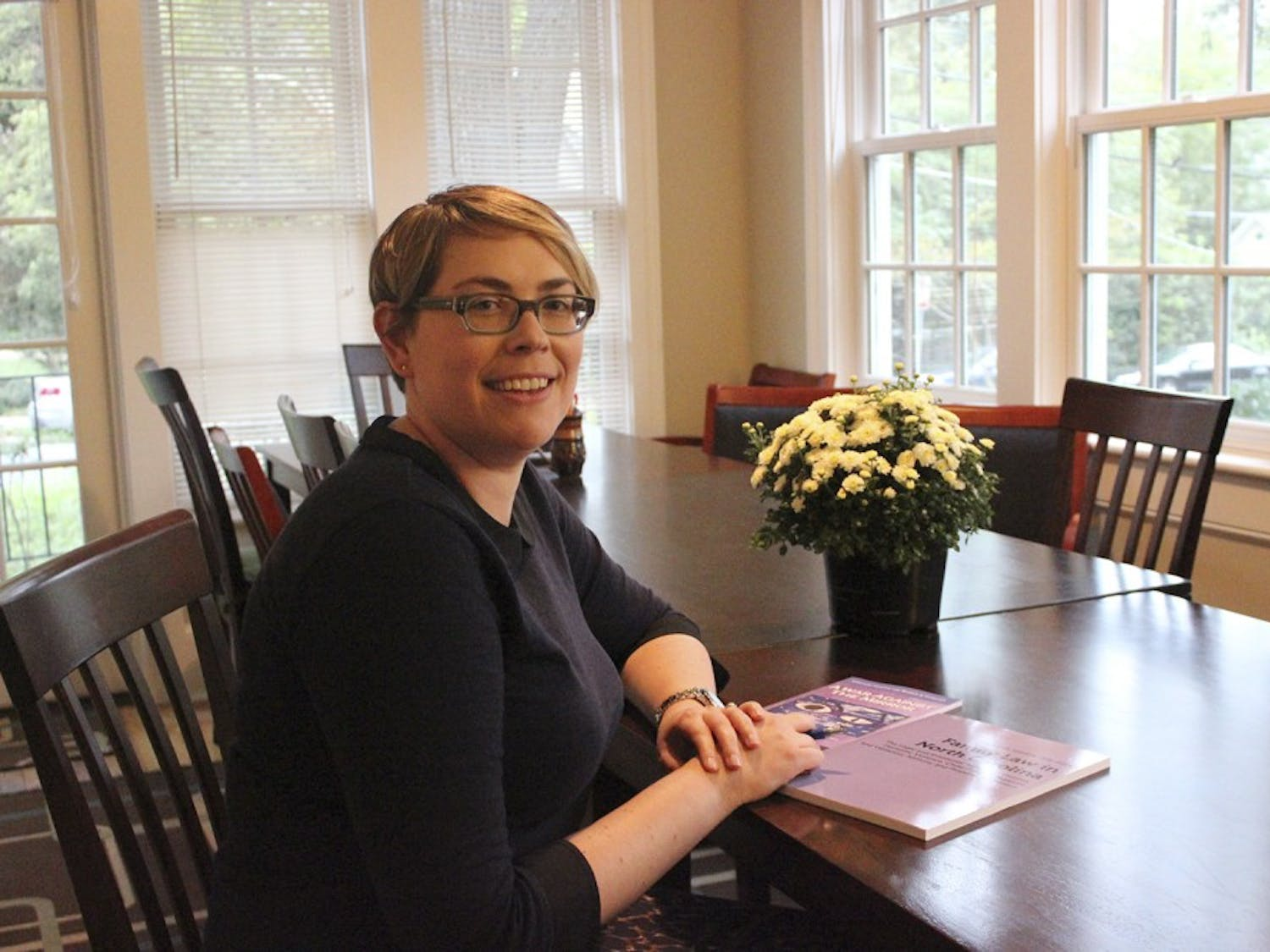 Cordelia Heaney is the new executive director of Compass Center for women and families.