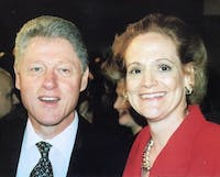 In 1997, Dr. Anne Marie Riether was invited to the White House after helping get the FDA Modernization Act passed. Riether were present when Bill Clinton signed the bill. Photo Courtesy of Dr. Anne Marie Riether