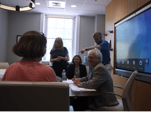 Faculty discussed issues that ranged from the Three Zeroes Initiative to the Program for Civic Virtue and Civil Discourse at Monday's Faculty Executive Meeting.