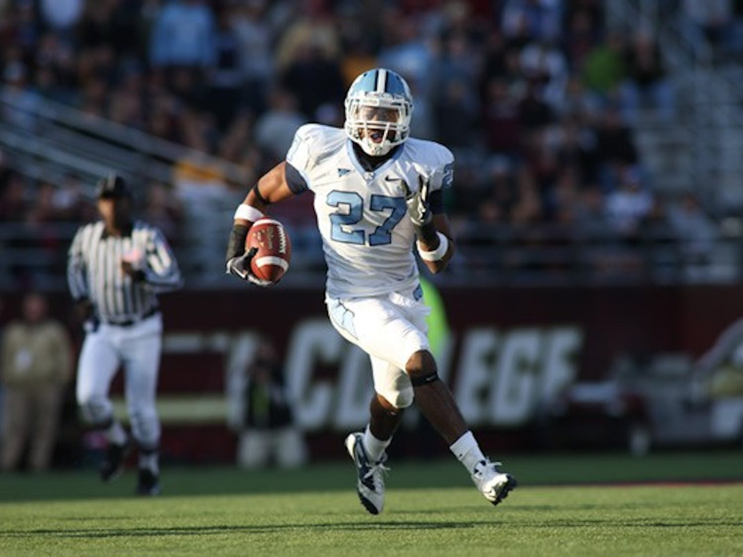 UNC had five interceptions Saturday, including three by Deunta Williams. DTH/Andrew Johnson