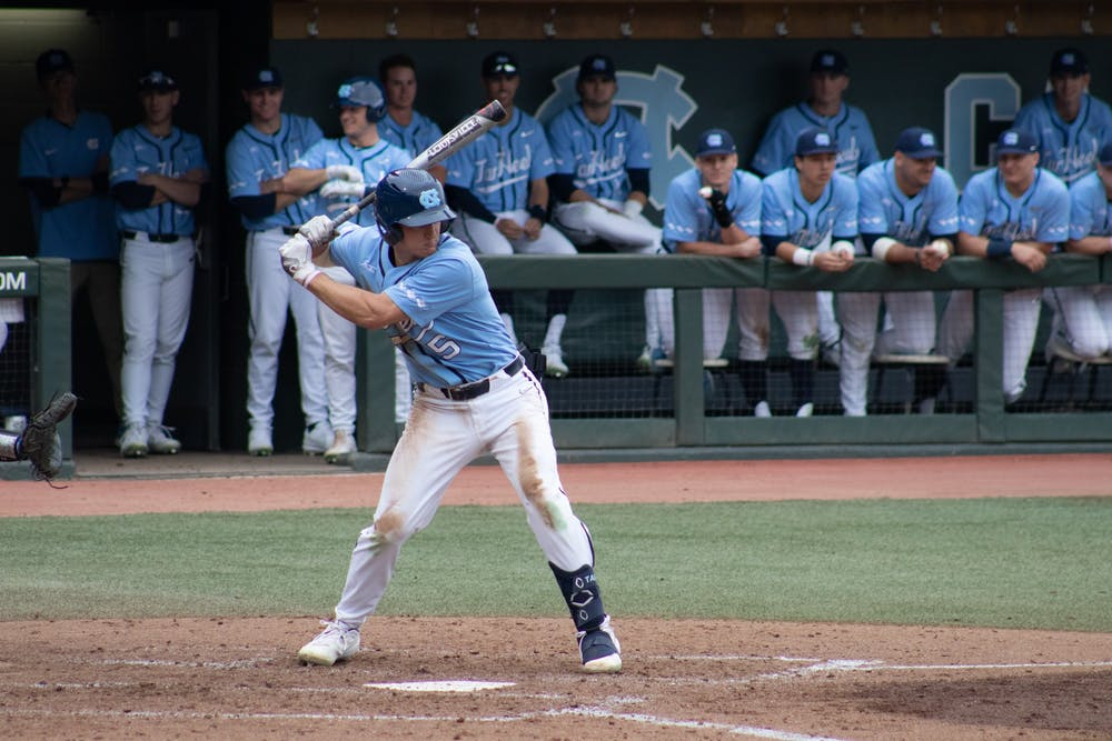 Newcomers Eric Grintz and Kyle Mott lead UNC baseball to 7-1 win over Elon