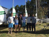 The UNC Sailing Club at a regatta. Photo courtesy of Taylor Betts.