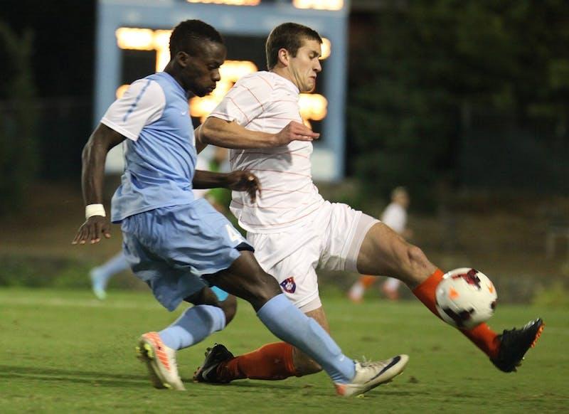 UNC Men's soccer lost to Clemson.