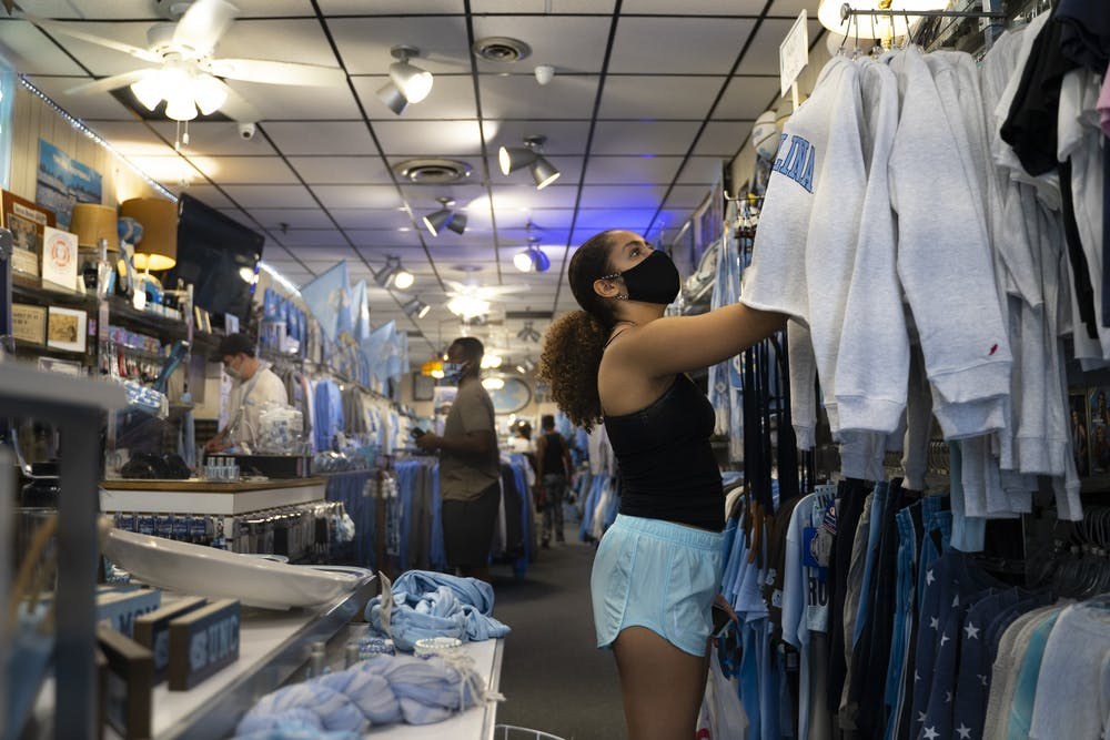 'Prepare for the worst, hope for the best': UNC merch stores in limbo without sports