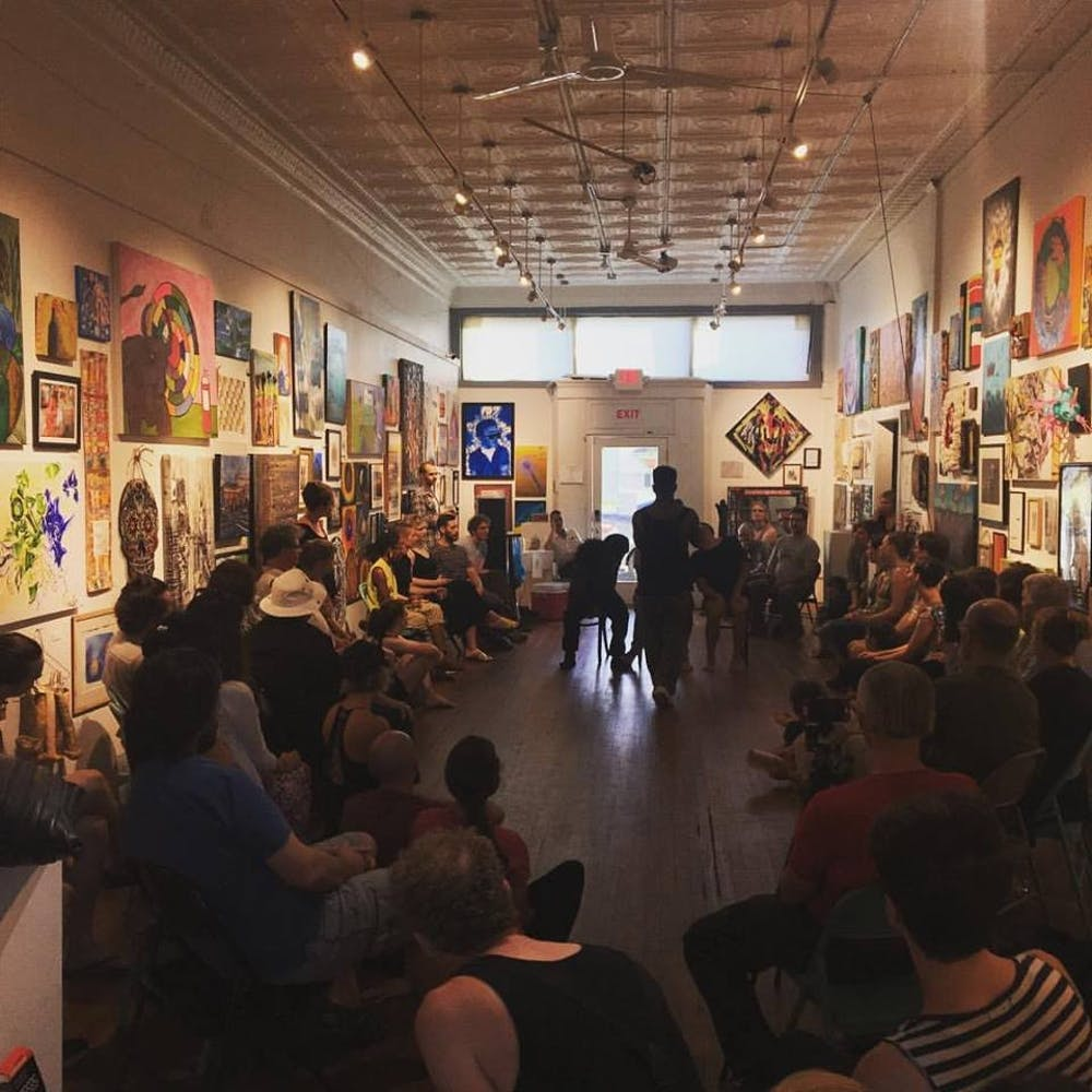 The Sit-In Series honors HBCUs through art (and free beer)