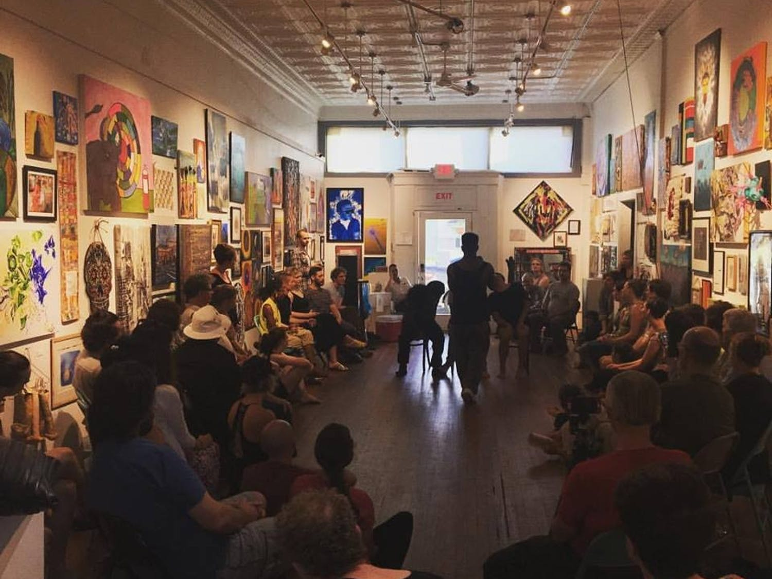 The C.N.O.T.E (Create Nothing Other Than Excellence) Foundation is hosting a sit-in series this Friday at The Carrack. Photo courtesy of The Carrack.