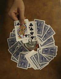 King's Cup is a classic drinking game involving a deck of cards.