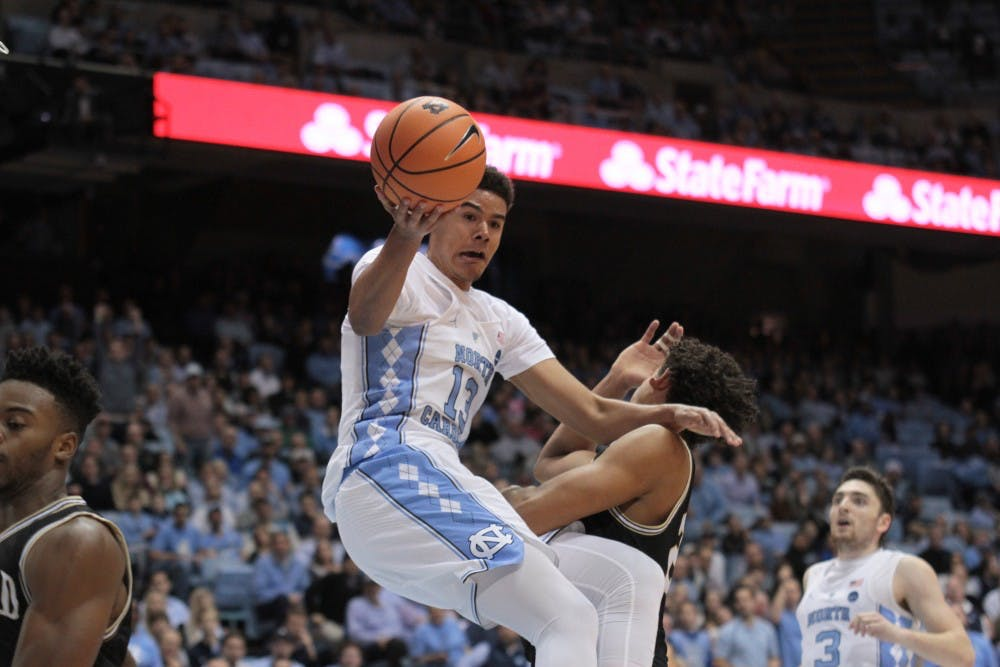 In second game as a Tar Heel, Cameron Johnson makes instant impact