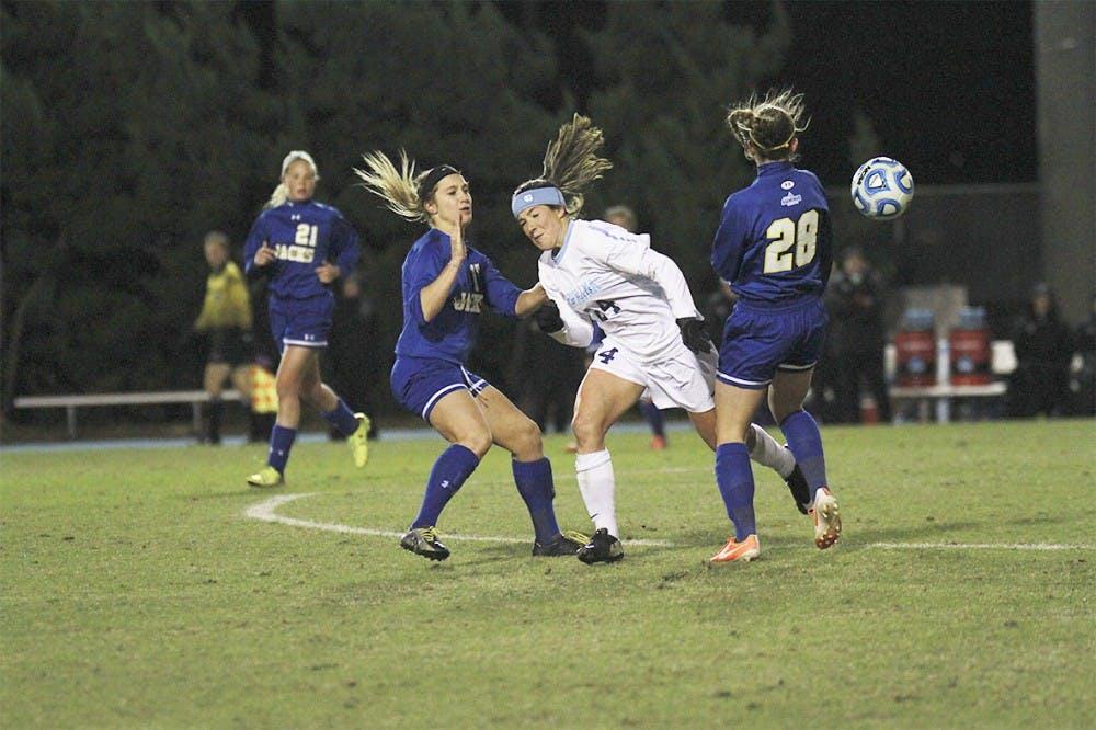 UNC women's soccer win 33rd straight NCAA Tournament opener