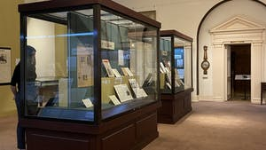 """Wilson Library's new exhibit, """"Papers for the People: A Treasury of North Carolina News Sources,"""" is showcasing specialized newspapers."""