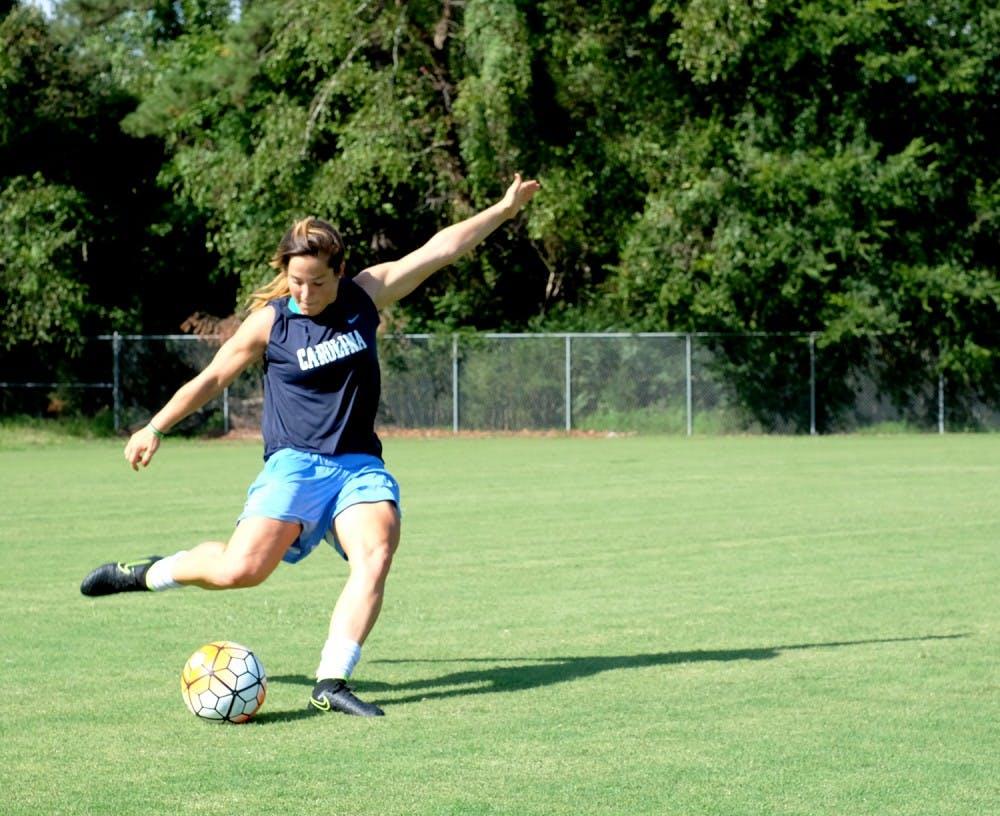 UNC women's soccer defender Paige Nielsen prepares for homecoming