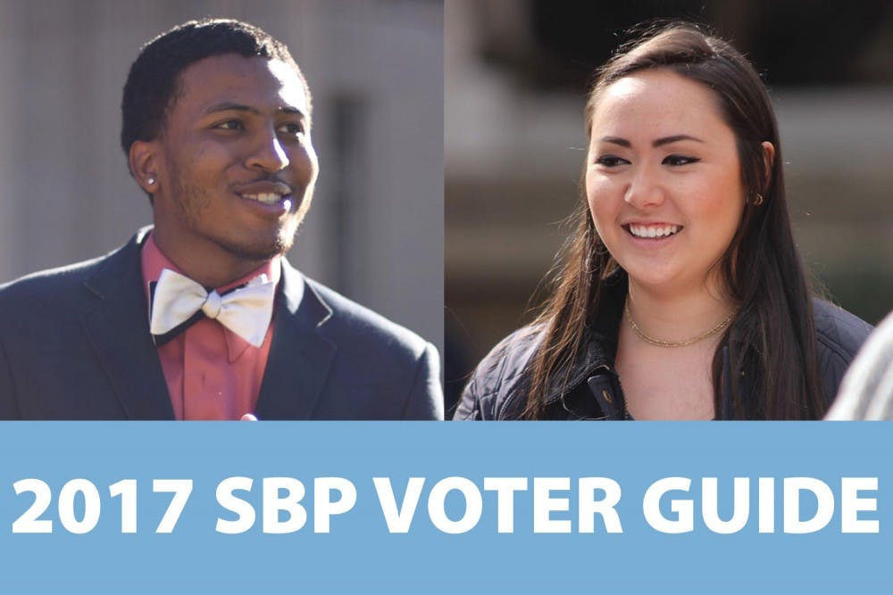 Interactive graphic: 2017 Student Body President voter guide