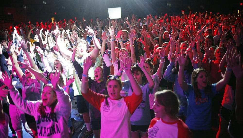 UNC Dance Marathon, which took place from 7:30 pm Friday to 7:30 pm Saturday, raised $483,210.36 to support families and patients at N.C. Children's Hospital.