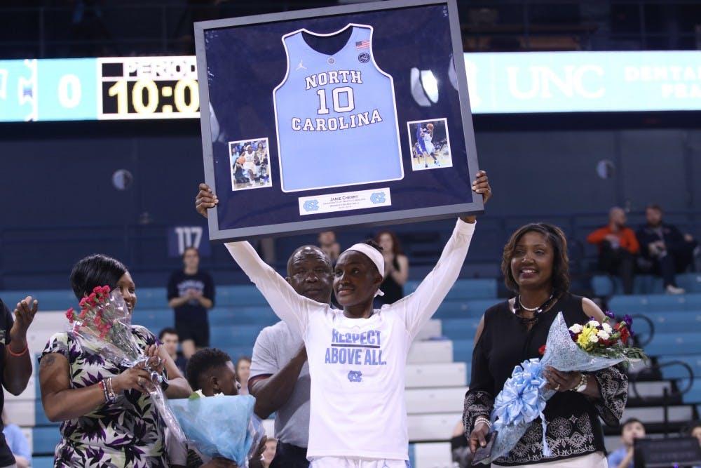 'Bittersweet': Cherry's heroics not enough for UNC women's basketball on Senior Day