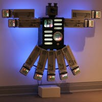 """South Korean artist Nam June Paik's piece """"Eagle Eye"""" (pictured) is part of a show displayed in the Ackland for Geography 650."""