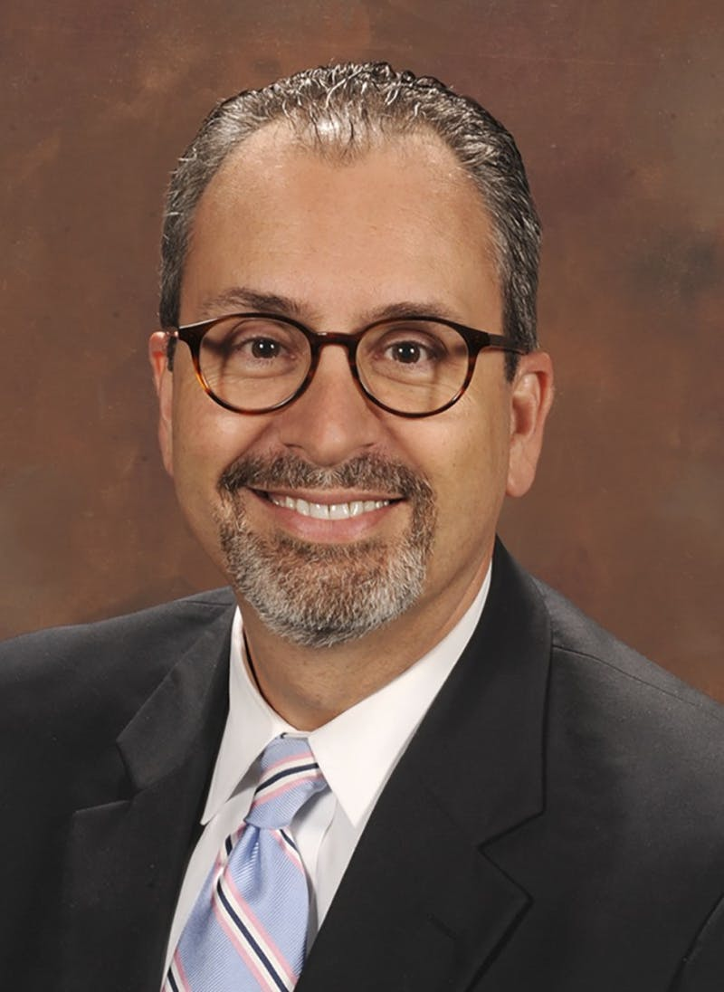 Scott De Rossi is the new dean of the School of Dentistry. Photo Courtesy of Tiffany Brannan.