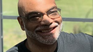 Linguistics professor Michael Terry was recently featured on an episode of New York radio show The Harlem Connection. Photo courtesy of Michael Terry.