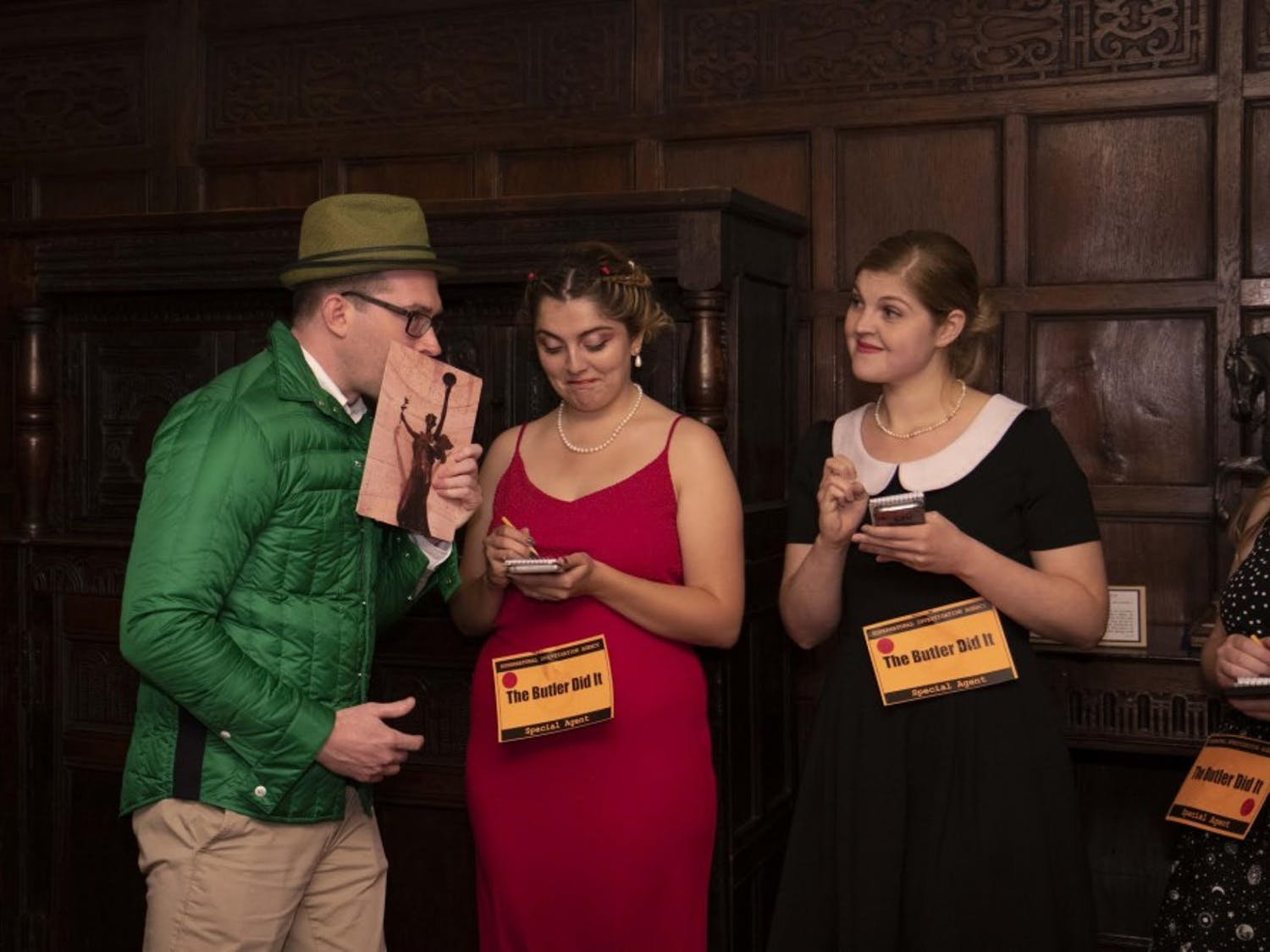 Participants in the Clue event in the fall of 2018 Photo by Aleah Howell
