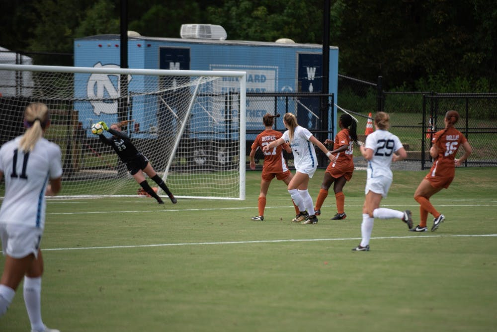 goalkeeper samantha leshnak saves season to send unc women s soccer