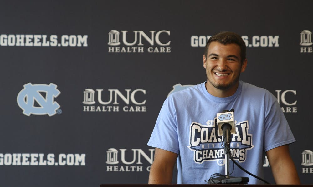Waiting his turn: Mitch Trubisky ready to take control of Tar Heels