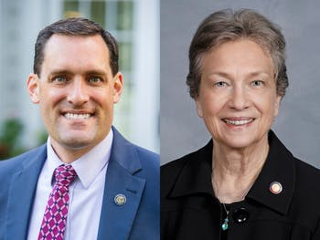 Graig Meyer (left), representative for N.C. House District 50, and Verla Insko (right), representative for N.C. House District 56, are both Democratic incumbents running unopposed in the upcoming election. Photos courtesy of Graig Meyer and Verla Insko.