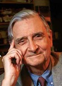 E.O. Wilson will be giving the commencement address this spring.