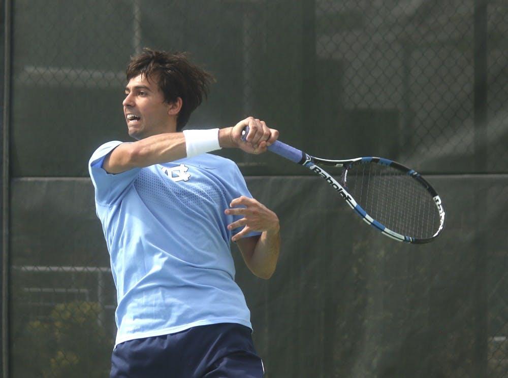 Gores enjoys final ride with No. 1 tennis team