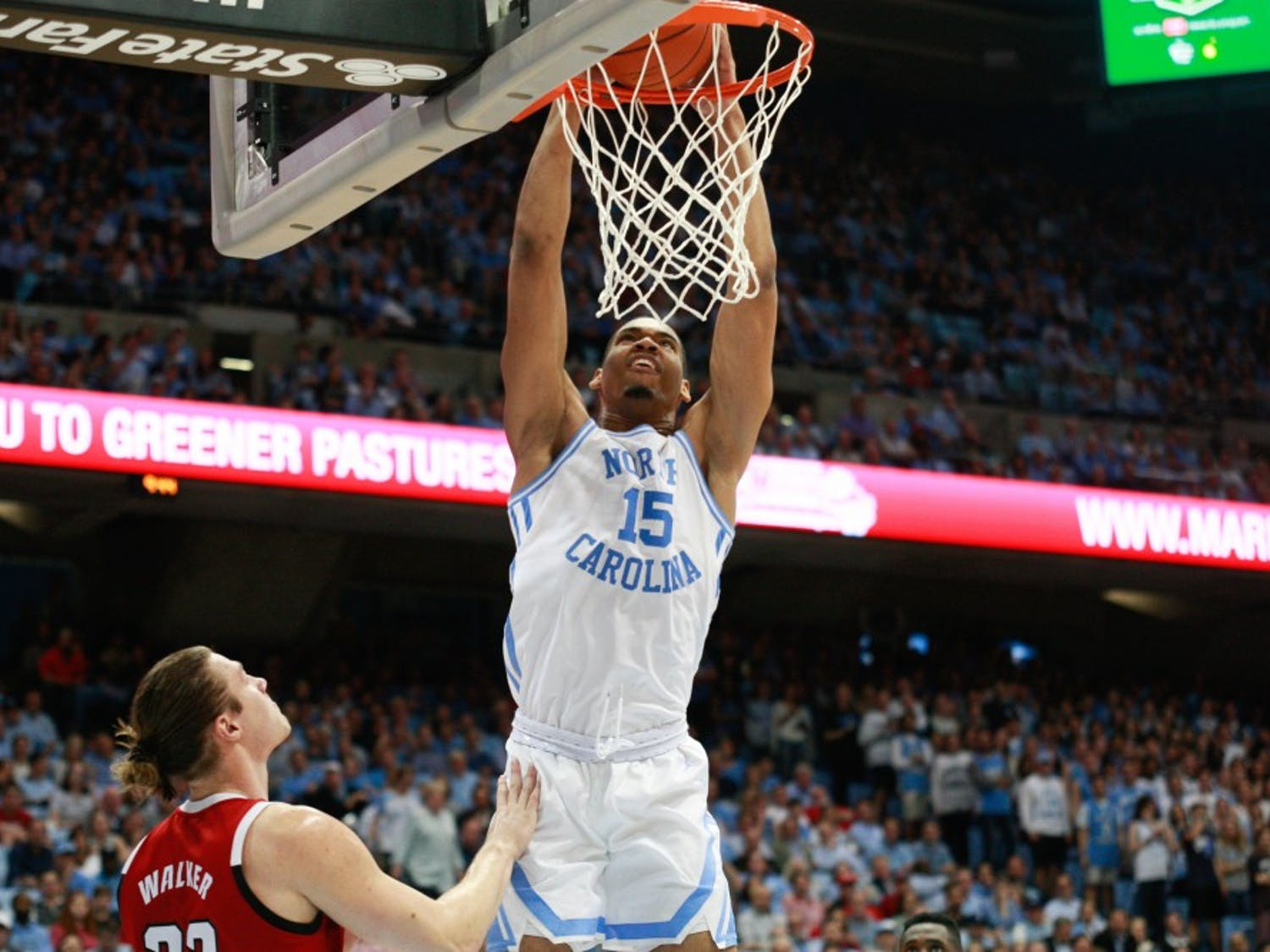 UNC men's basketball beat NC state with the most points scored on the Wolfpack since 2003. UNC won 113-96 at the Smith Center on Tuesday, Feb. 5, 2019.