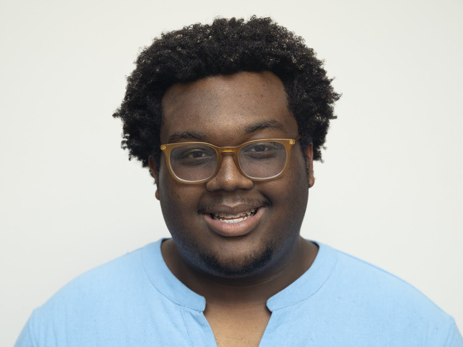 UNC sophomore Lamar Richards, chair of the Commission on Campus Equality and Student Equity, poses for a portrait on Sunday, Sept. 27, 2020.