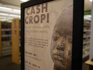 "The ""Cash Crop!"" exhibit at 109 E. Franklin Street opened Oct. 20, 2019 and it will close on Nov. 18, 2019."