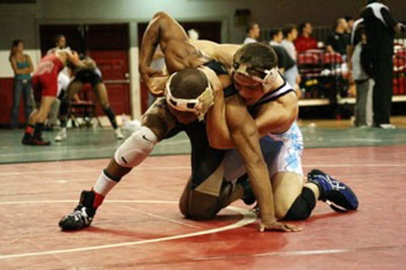 Vincent Ramirez rallied in the second period to settle a win against UVa.?s Nick Nelson. Ramirez and the Tar Heels recorded two wins this weekend.