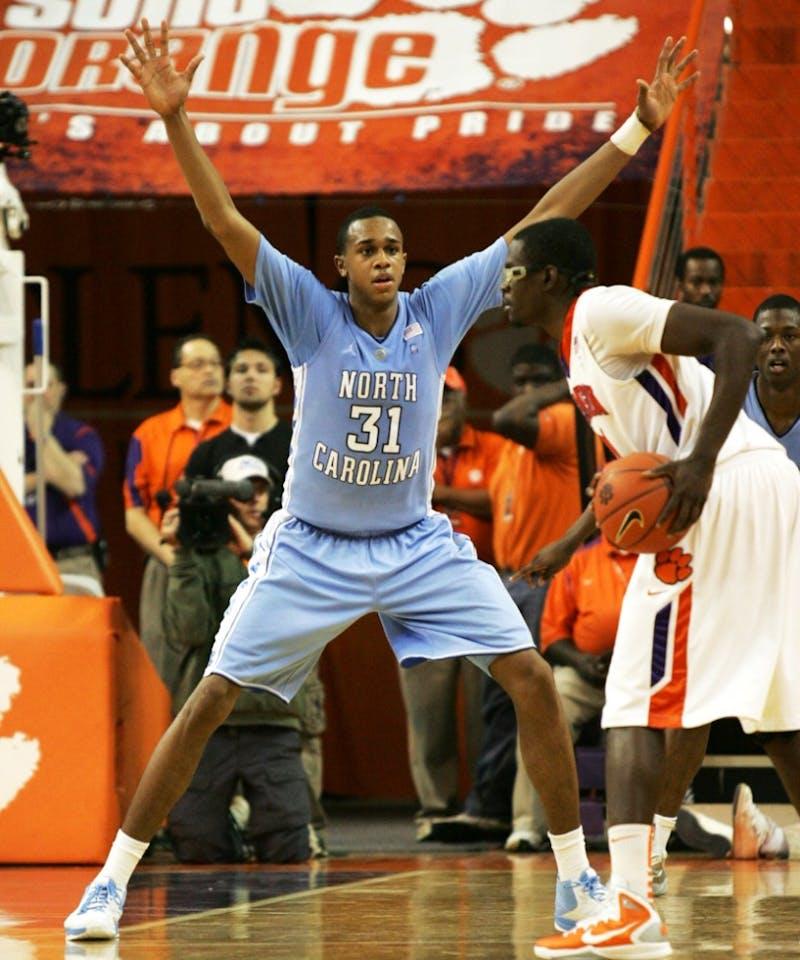 The University of North Carolina Tar Heels played the Clemson Tigers on Saturday, February 12, 2011.