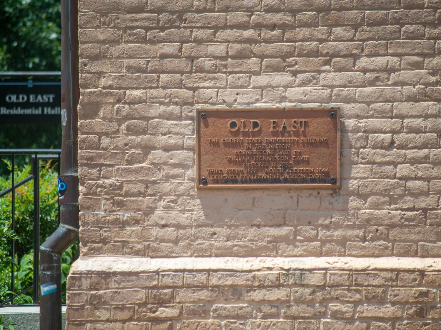 Old East, as pictured on June 6, 2021, is the oldest state university building in the nation.