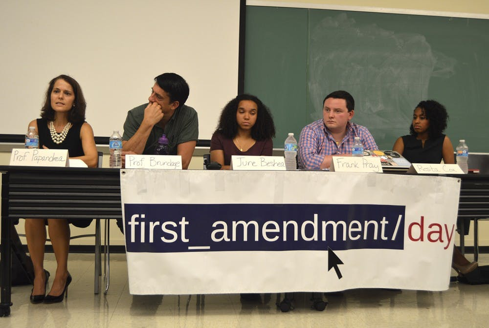 Silent Sam, Carolina Hall debated on First Amendment Day