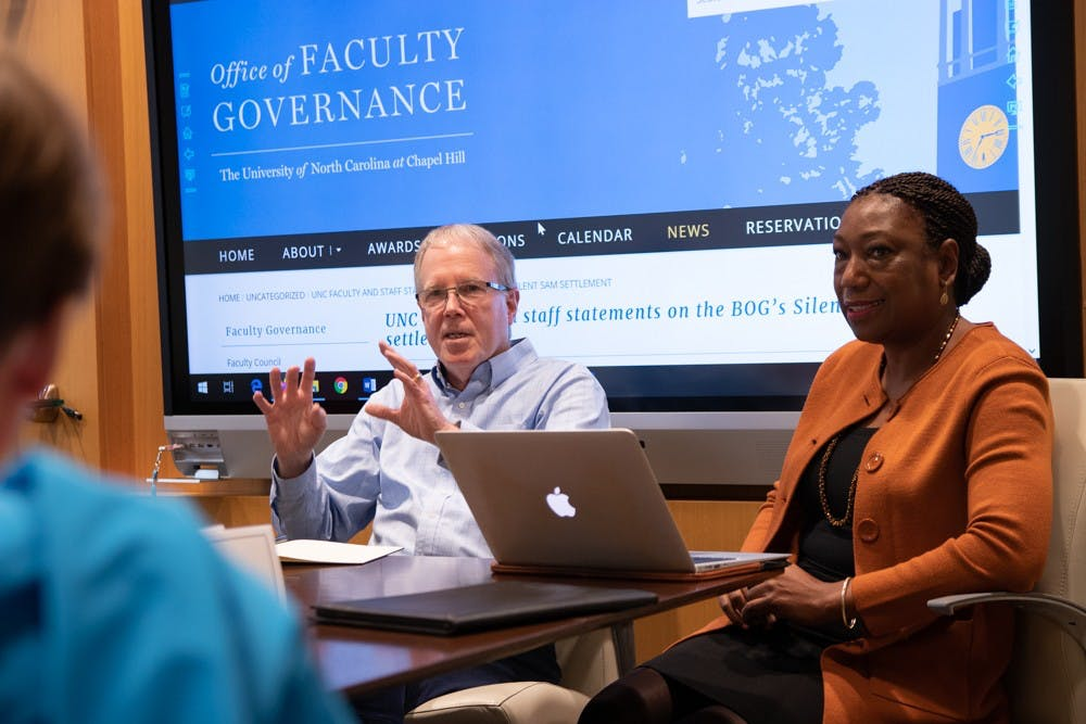Faculty discuss Chancellor's Commission on History, Race and a Way Forward