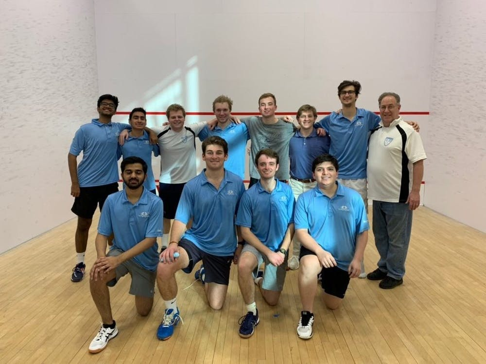 UNC club squash impresses at nationals and at home with new women's team