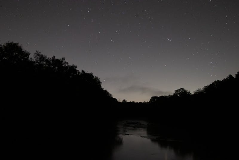The stars shown over Haw River on Wednesday, Oct. 23, 2019. According to some UNC students, astrology, the stars, and 'alternative spirituality' are shining in Gen Z culture.