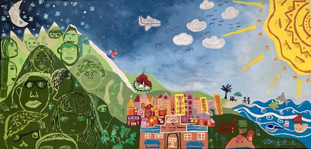 CHCCS teacher wins Fulbright Award, creates art with students around the world