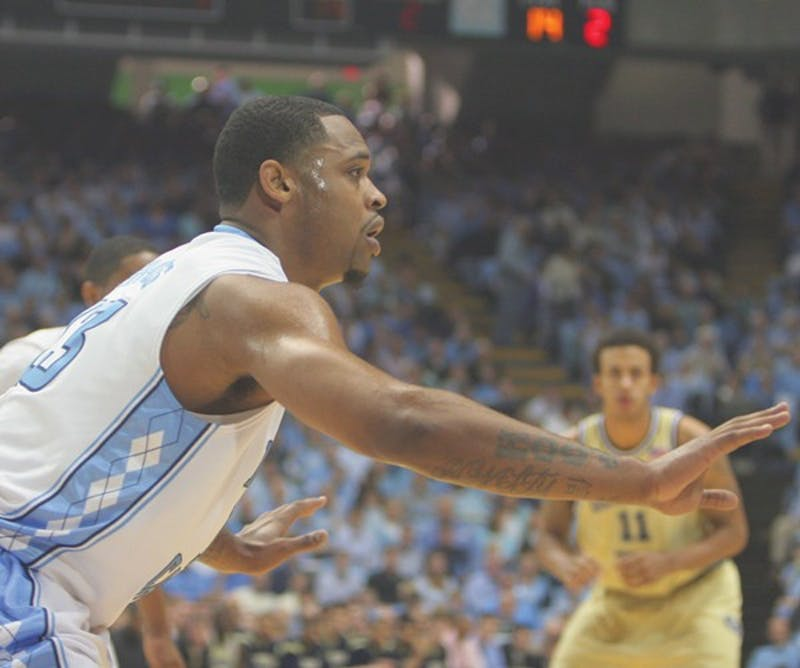 Graves hitting five 3-pointers during the second half couldn't bring UNC a victory. DTH/Margaret Cheatham Williams