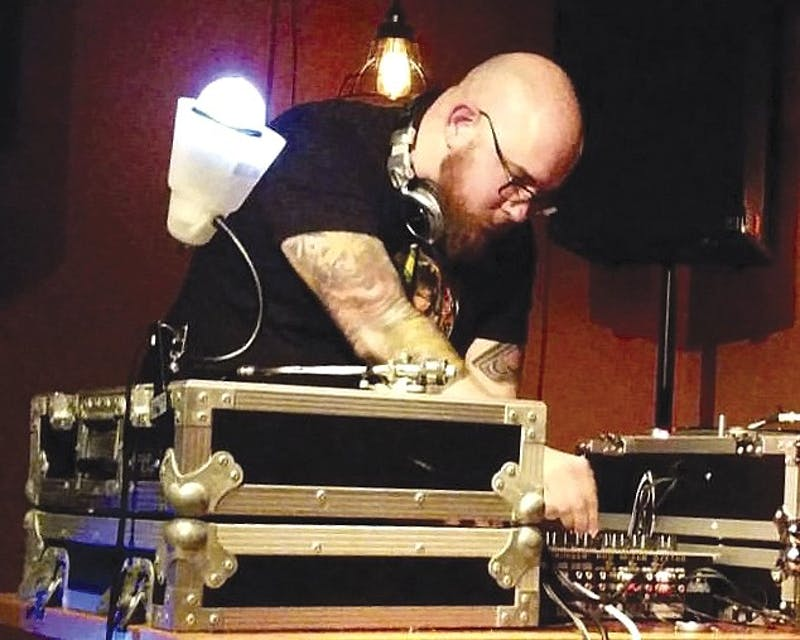 DJ Bo Fader has been in the professional music and entertainmentbusiness for 20 years. He started because he couldn't dance. (Courtesy ofStacey Willard)