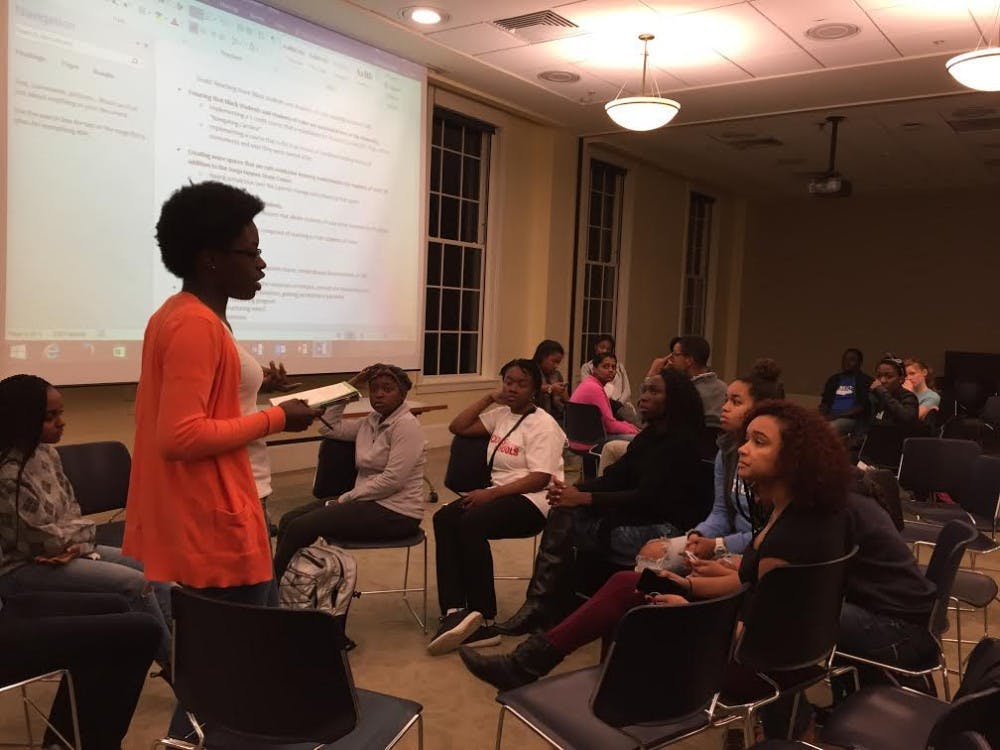 BSM discusses what should change to improve UNC experience for black students