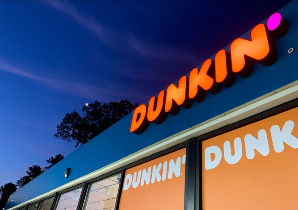 Chapel Hill residents run on Dunkin' for a year following grand opening