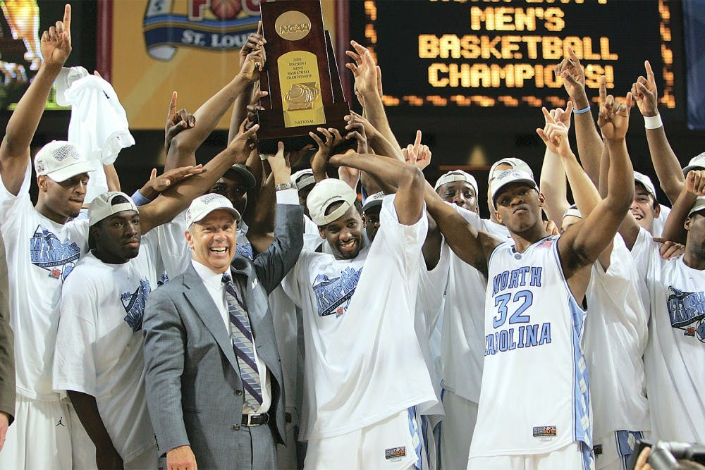 1bc1d0495e2f Tar Heels remember the 2005 NCAA title 10 years later - The Daily ...