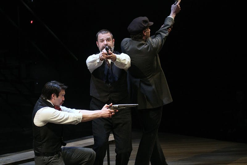 """PlayMakers Repertory Company's production of """"Assassins"""" features presidential assassins and explores their plots and motives."""