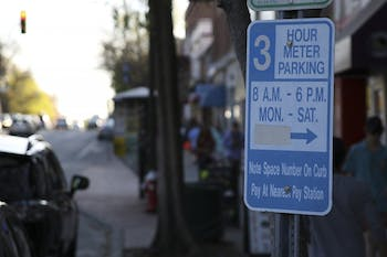 Parking meters now allow people to park on Franklin Street for up to three hour intervals instead of two.