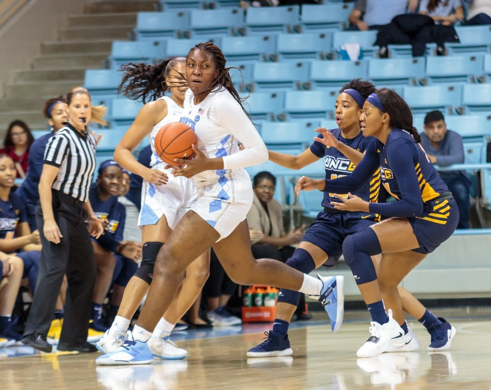 UNC women's basketball returns to strong form with 85-63 win over Howard on Friday