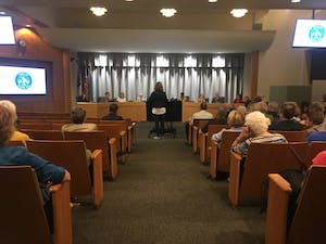 The Chapel Hill Town Council met on Oct. 11.
